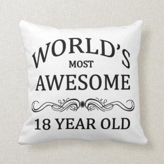 Fantastischsten 18 Jährigen der Welt die Kissen