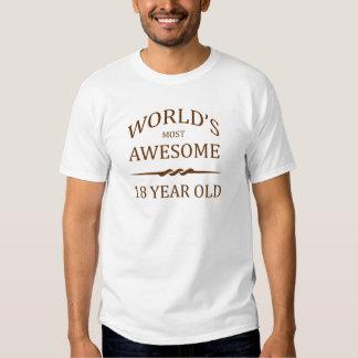 Fantastischsten 18 Jährigen der Welt die Tshirts