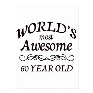 Fantastischsten 60 Jährigen der Welt die Postkarte