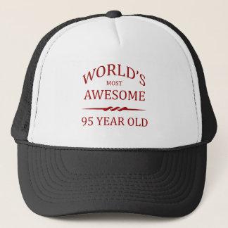 Fantastischsten 95 Jährigen der Welt die. Truckerkappe