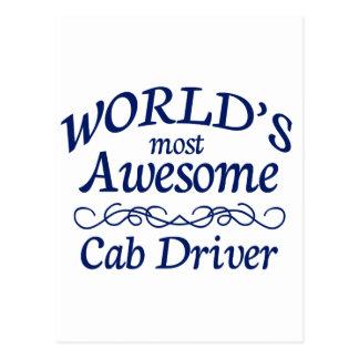 Fantastischster das Fahrerhaus-Fahrer der Welt Postkarte
