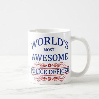 Fantastischster die Polizei-Offizier der Welt Kaffeetasse