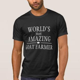 Fantastischster die Ziegen-Bauer der Welt T-Shirt