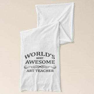 Fantastischster Kunstlehrer der Welt Schal