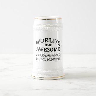 Fantastischster Schulvorsteher der Welt Bierglas