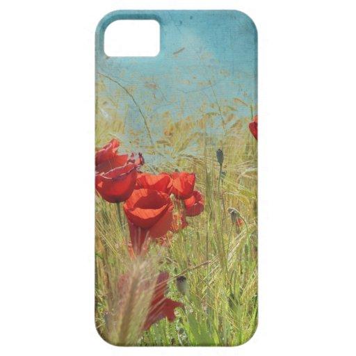Fantasy Poppies Etui Fürs iPhone 5