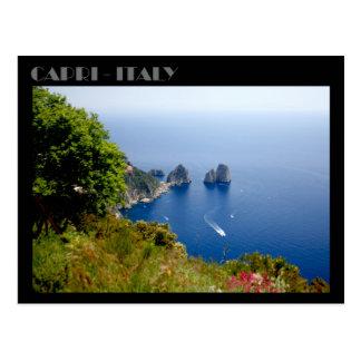 Faraglioni Felsen, Insel von Capri Postkarte