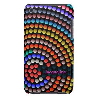 Farbabstrakter Kreis-Kunstipod-Kasten Case-Mate iPod Touch Hülle