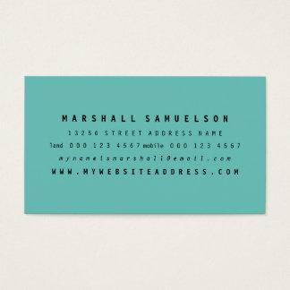 Farbberufliche Geschäfts-Karten des Visitenkarte