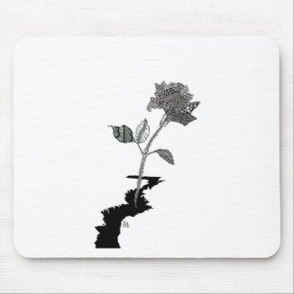 Farbbleistift-Detroit-Rose Mousepads
