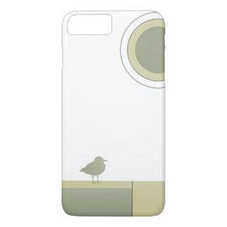 Farbblock-Seemöwe-Telefon-Kasten iPhone 8 Plus/7 Plus Hülle