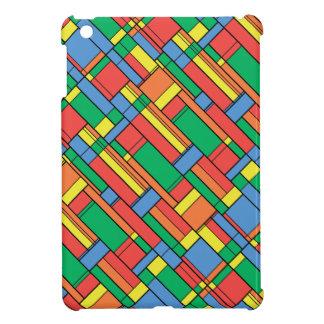 Farbblöcke iPad Mini Hülle