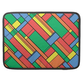 Farbblöcke Sleeve Für MacBook Pro