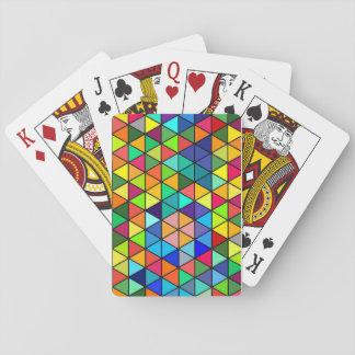 Farbdreiecke Spielkarten