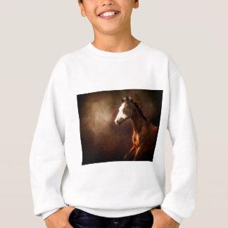 Farbe auf dem Lauf Sweatshirt