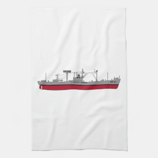 Farbe der USS Indikator-Silhouette-AGR-15 Küchentuch