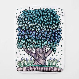 Farbe des Baum-zwei Baby Spucktuch