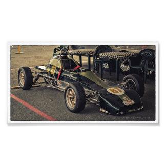 Farbe des Rennwagen-67 Fotodruck