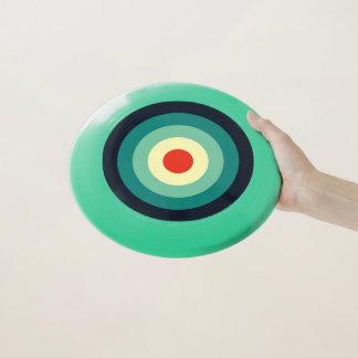 Farbe fünf kombiniert - blaues Aqua-Grün-Gelb-Rot Wham-O Frisbee