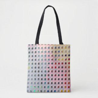 Farbe im Gitter Tasche
