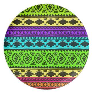 Farbe pattern-01 teller
