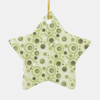 FARBE RUNDE PATTERN FOR GIFT I KERAMIK ORNAMENT
