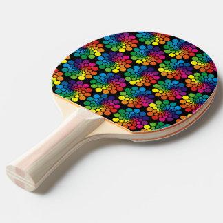 Farbe zeigt Kreis-Muster + Ihr Hintergrund Tischtennis Schläger