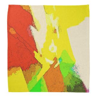 Farben der Sommer-Abstraktion Halstuch
