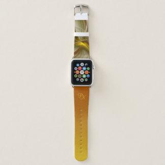 Farben der wertvollen Metalle, abstraktes Apple Watch Armband