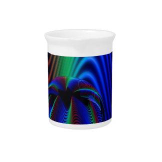 Farben des Kristalles Getränke Pitcher