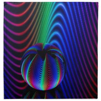 Farben des Kristalles Stoffserviette