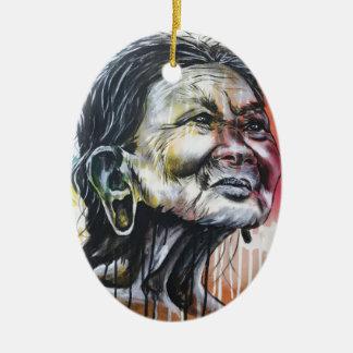Farben des Lebens Keramik Ornament