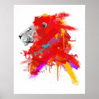 Farben des Mutes Poster