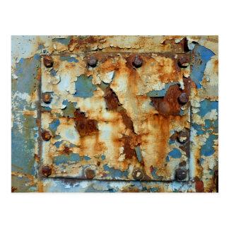 Farben des Rosts Ob3.0, Rost-Kunst Postkarte