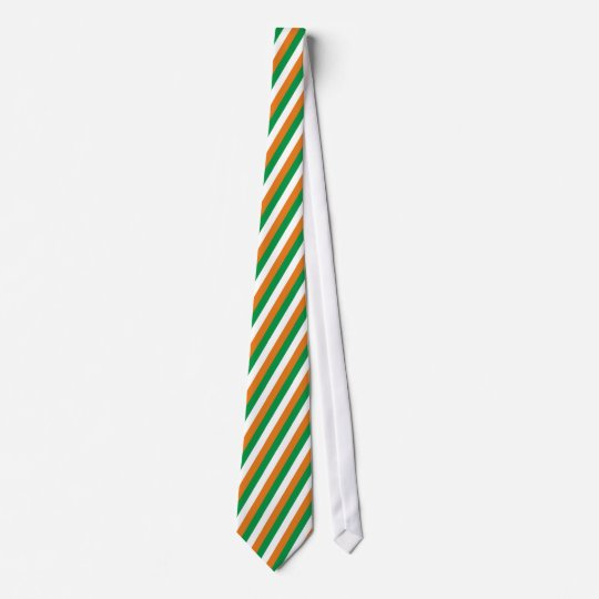 Farben Fahne Irland Bedruckte Krawatte