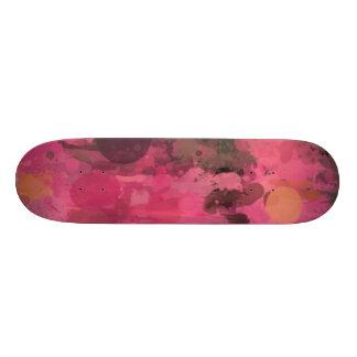 Farben im Aufruhrrosa Personalisierte Skateboards