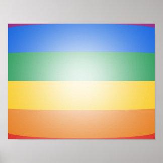 FARBEN LGBT STOLZ-3D PLAKAT