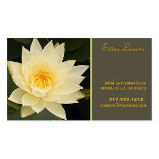 Farben PixDezine Lotos flower om yoga healers DIY Visitenkarten Vorlage