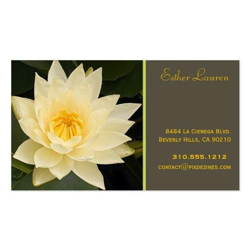 Farben PixDezine Lotos flower/om/yoga/healers/DIY Visitenkarten Vorlage