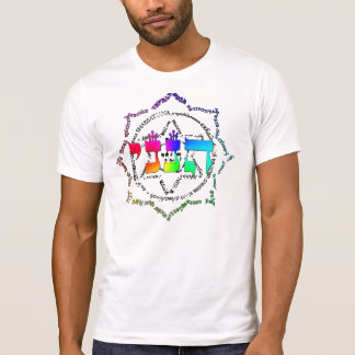 Färben Sie der Explosions-Männer Vintag T-Shirt