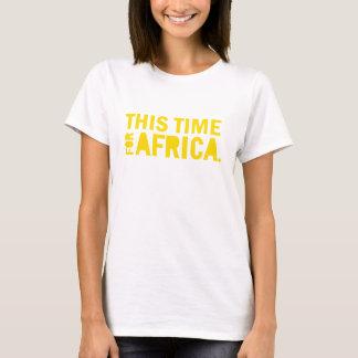 Färben Sie dieses mal für Afrika-Shirt gelb T-Shirt