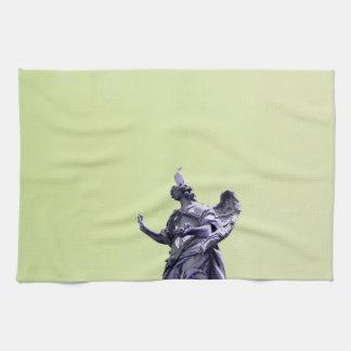 Färben Sie Effekt, gefilterte, moderne einfache Handtuch