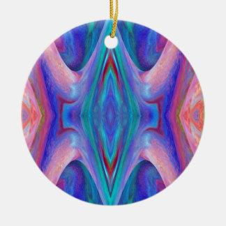 Färben Sie Glas abstrakt Keramik Ornament