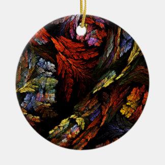 Färben Sie Harmonie-abstrakte Keramik Ornament