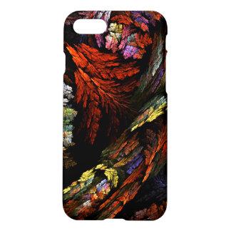 Färben Sie Harmonie-abstrakte Kunst Matt iPhone 8/7 Hülle