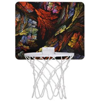 Färben Sie Harmonie-abstrakte Kunst Mini Basketball Ring