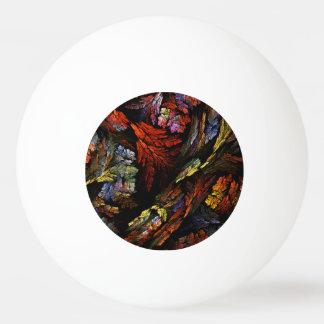 Färben Sie Harmonie-abstrakte Kunst Tischtennis Ball