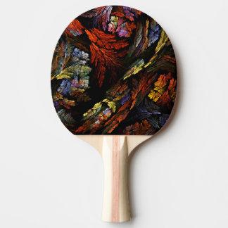 Färben Sie Harmonie-abstrakte Kunst Tischtennis Schläger