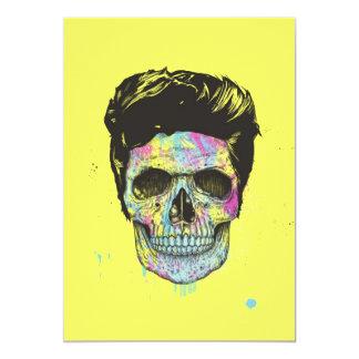 Färben Sie Ihren Tod 12,7 X 17,8 Cm Einladungskarte