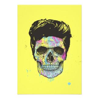 Färben Sie Ihren Tod Personalisierte Ankündigungskarte